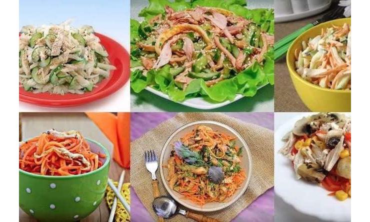 Смеситель салатов, овощных смесей, морковки, фруктов, сухофруктов